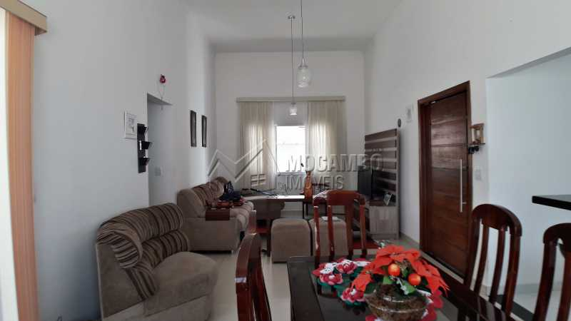 Sala dois Ambientes - Casa À Venda no Condomínio Itatiba Country Club - Residencial Fazenda Serrinha - Itatiba - SP - FCCN30373 - 3