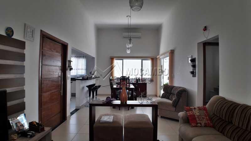 Sala dois Ambientes - Casa À Venda no Condomínio Itatiba Country Club - Residencial Fazenda Serrinha - Itatiba - SP - FCCN30373 - 1