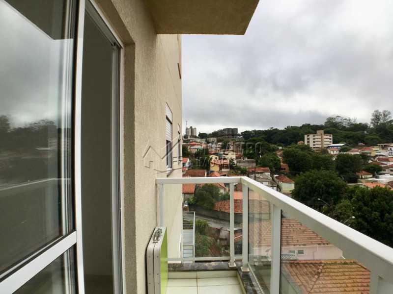 Varanda - Apartamento À Venda no Condomínio Edifício Jardim Nice - Jardim Nice - Itatiba - SP - FCAP20863 - 5