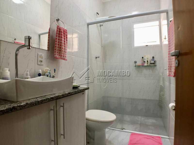 Banheiro suíte - Casa em Condominio À Venda - Itatiba - SP - Jardim México - FCCN30374 - 12