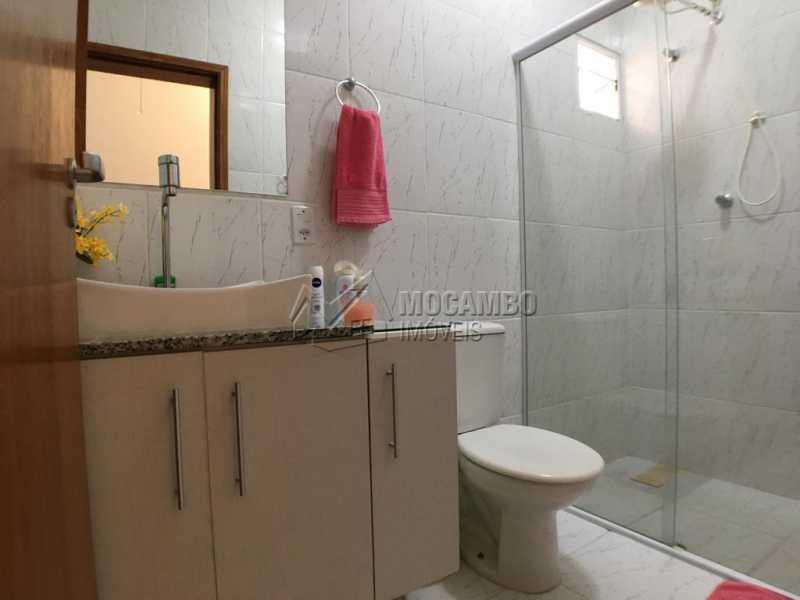Banheiro social - Casa em Condominio À Venda - Itatiba - SP - Jardim México - FCCN30374 - 9