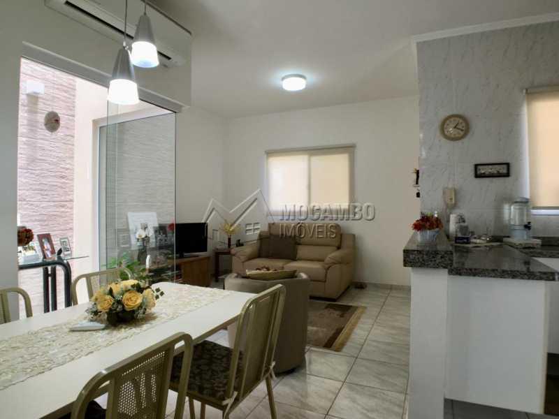 Sala de jantar - Casa em Condominio À Venda - Itatiba - SP - Jardim México - FCCN30374 - 5