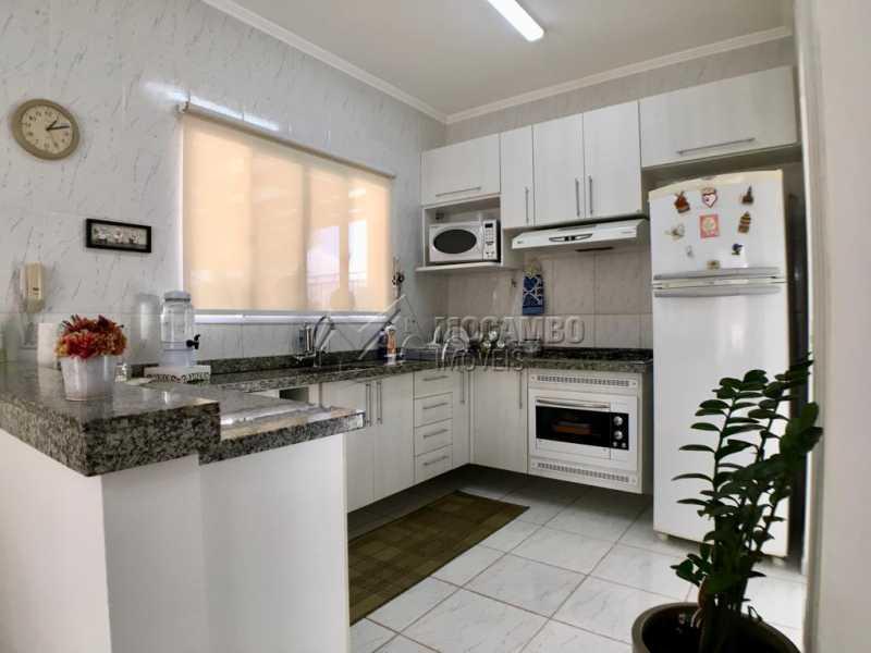 Cozinha - Casa em Condominio À Venda - Itatiba - SP - Jardim México - FCCN30374 - 7
