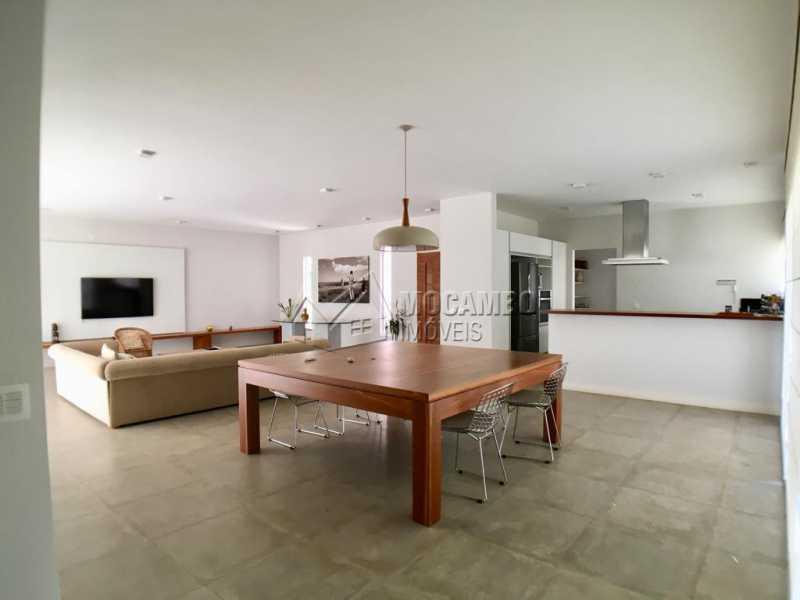 Salas - Casa em Condomínio 3 quartos à venda Itatiba,SP - R$ 1.300.000 - FCCN30376 - 6