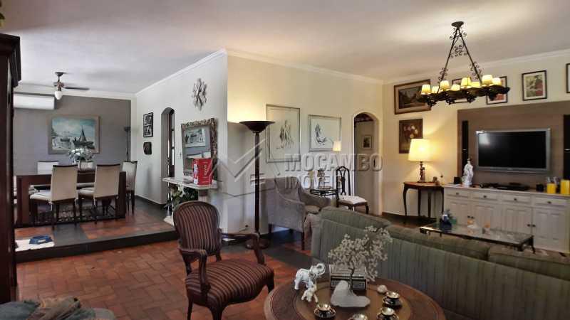 Sala - Casa À Venda no Condomínio Ville Chamonix - Jardim Nossa Senhora das Graças - Itatiba - SP - FCCN40126 - 12