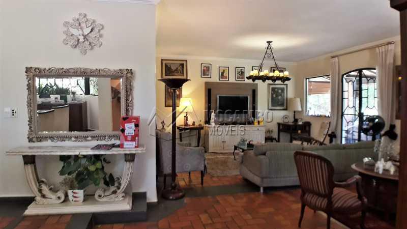 Sala - Casa À Venda no Condomínio Ville Chamonix - Jardim Nossa Senhora das Graças - Itatiba - SP - FCCN40126 - 14