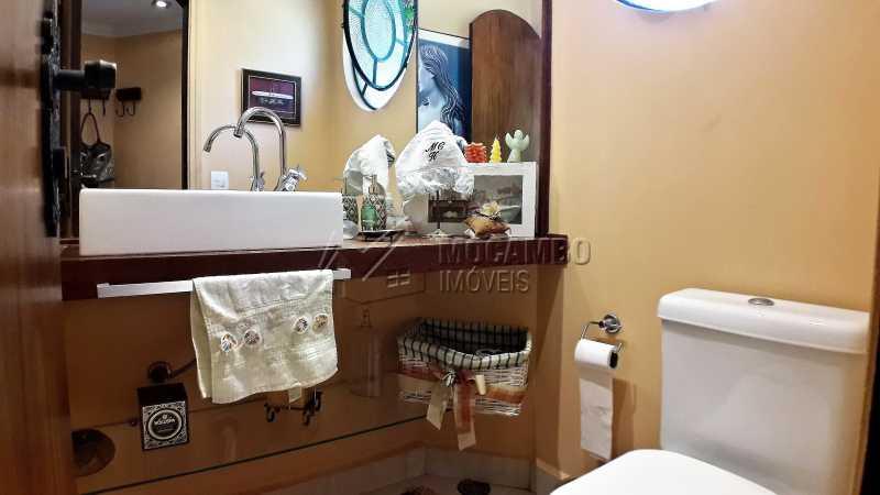 Lavabo - Casa À Venda no Condomínio Ville Chamonix - Jardim Nossa Senhora das Graças - Itatiba - SP - FCCN40126 - 15