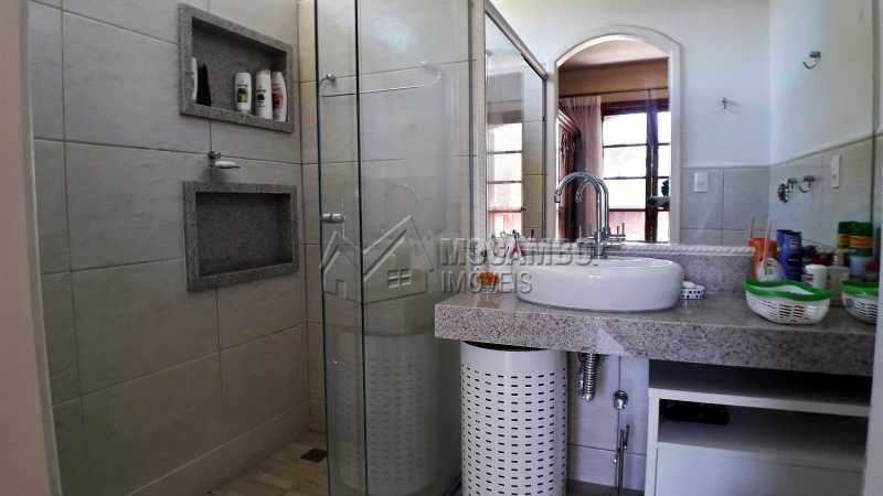 Banheiro da Suíte - Casa À Venda no Condomínio Ville Chamonix - Jardim Nossa Senhora das Graças - Itatiba - SP - FCCN40126 - 17