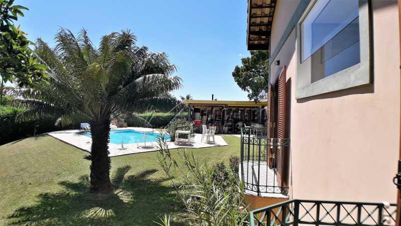 Vista Externa - Casa em Condomínio 4 quartos à venda Itatiba,SP - R$ 1.300.000 - FCCN40126 - 10