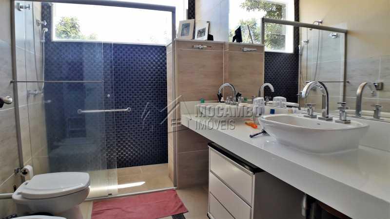 Banheiro Social - Casa À Venda no Condomínio Ville Chamonix - Jardim Nossa Senhora das Graças - Itatiba - SP - FCCN40126 - 21