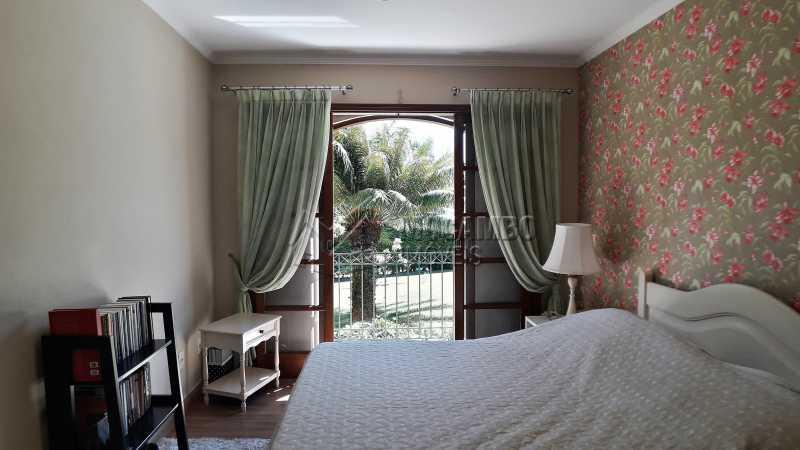 Dormitório - Casa À Venda no Condomínio Ville Chamonix - Jardim Nossa Senhora das Graças - Itatiba - SP - FCCN40126 - 20