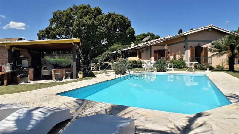 Área externa - Casa em Condomínio 4 quartos à venda Itatiba,SP - R$ 1.300.000 - FCCN40126 - 1