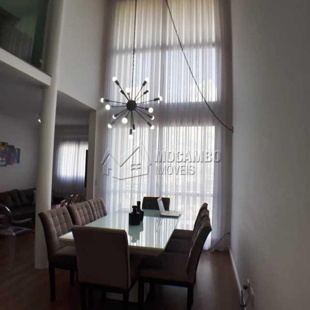 sala com pe direito duplo  - Apartamento 3 quartos à venda Itatiba,SP - R$ 699.000 - FCAP30468 - 3