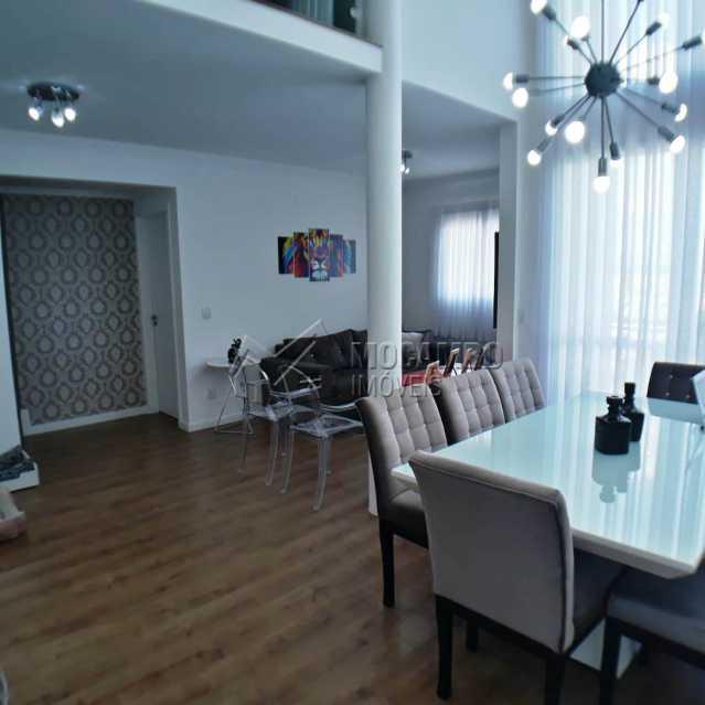Sala 2 ambientes integrada - Apartamento 3 quartos à venda Itatiba,SP - R$ 699.000 - FCAP30468 - 4