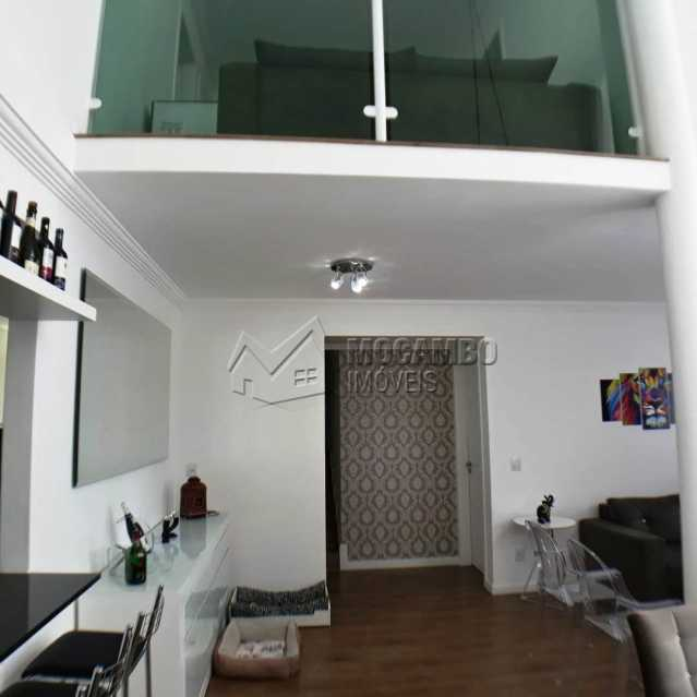 sala com pe direito duplo - Apartamento 3 quartos à venda Itatiba,SP - R$ 699.000 - FCAP30468 - 6