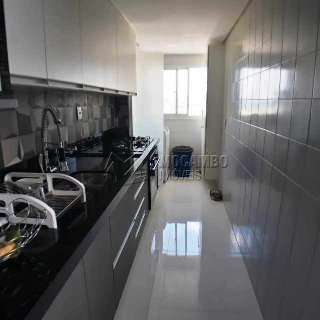 cozinha planejada e AS . - Apartamento 3 quartos à venda Itatiba,SP - R$ 699.000 - FCAP30468 - 9