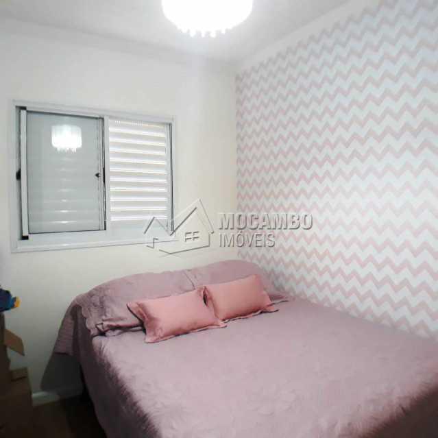 quarto com armarios planejados - Apartamento 3 quartos à venda Itatiba,SP - R$ 699.000 - FCAP30468 - 18