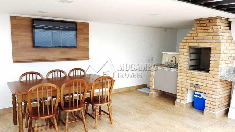 exclusiva sacada gourmet - Apartamento 3 quartos à venda Itatiba,SP - R$ 699.000 - FCAP30468 - 1