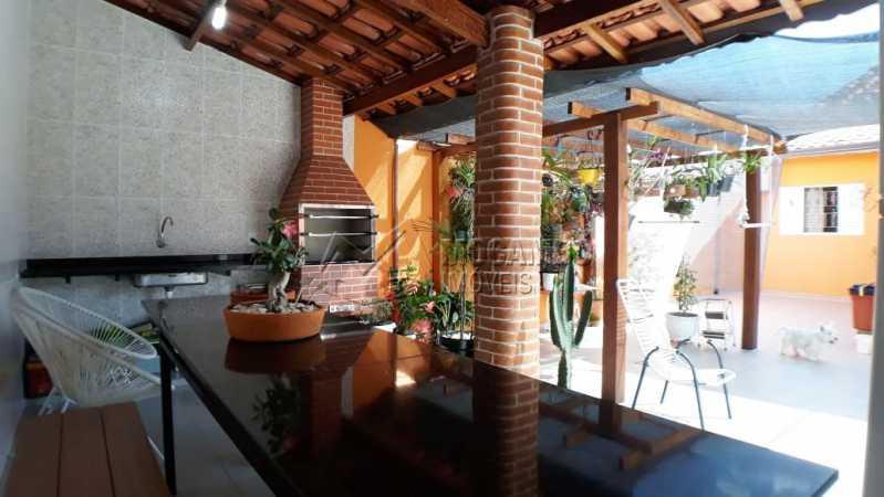 área gourmet - Casa Itatiba, Jardim México, SP À Venda, 3 Quartos, 214m² - FCCA31168 - 12