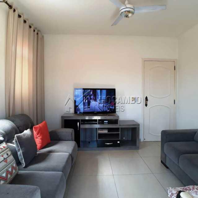 sala com varanda - Casa Itatiba, Jardim México, SP À Venda, 3 Quartos, 214m² - FCCA31168 - 4