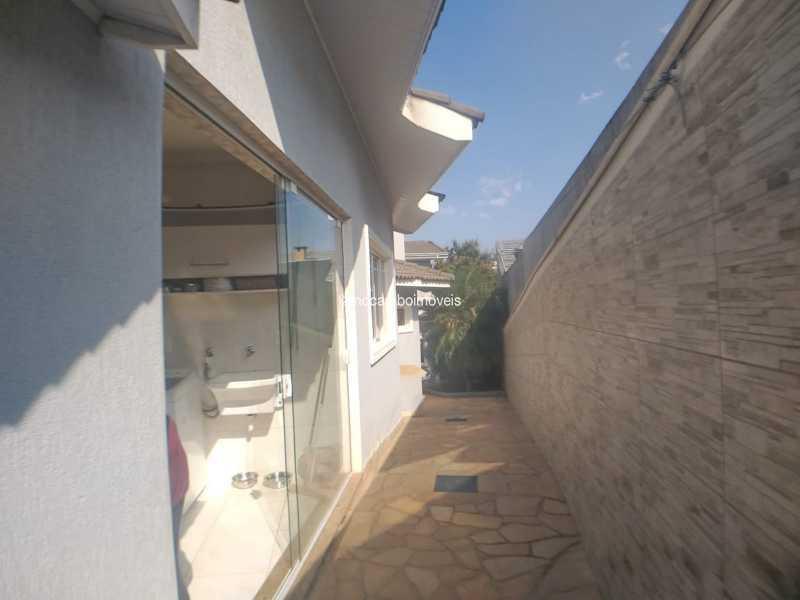 Lateral Casa - Casa em Condomínio 4 quartos à venda Itatiba,SP - R$ 990.000 - FCCN40020 - 20