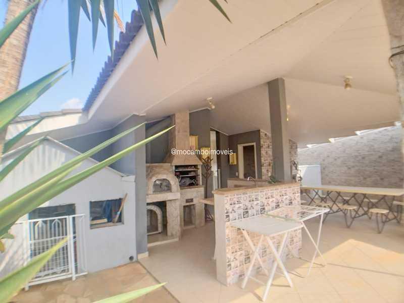 Área Externa /Churrasqueira - Casa em Condomínio 4 quartos à venda Itatiba,SP - R$ 990.000 - FCCN40020 - 21