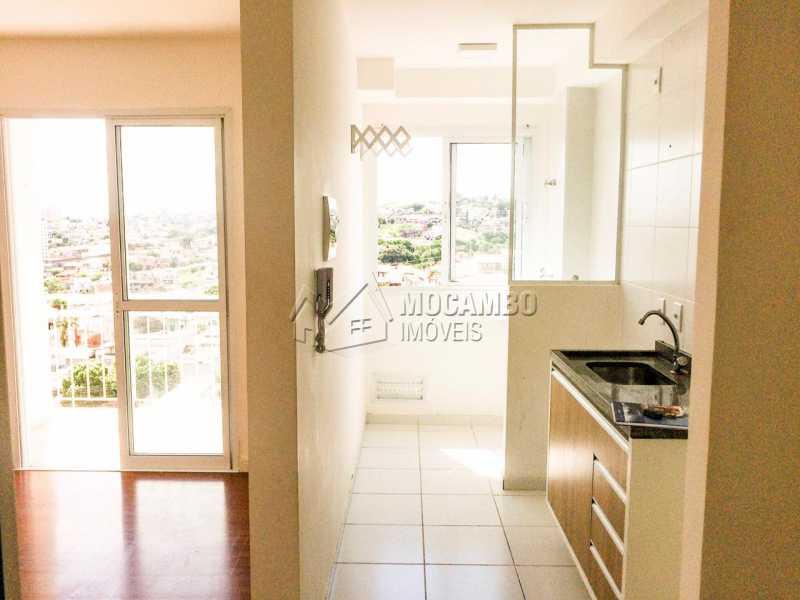 Cozinha - Apartamento 2 quartos à venda Itatiba,SP - R$ 209.000 - FCAP20867 - 1