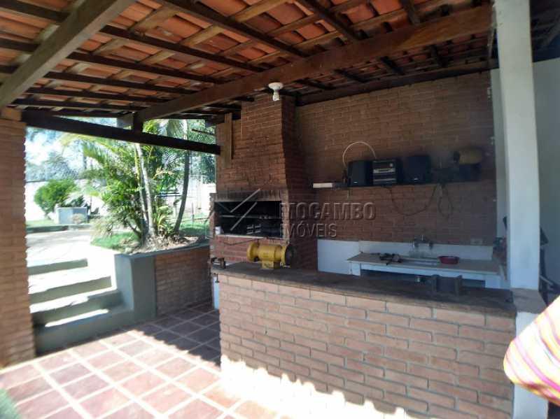 churrasqueira  - Casa em Condomínio 4 quartos à venda Itatiba,SP - R$ 900.000 - FCCN40127 - 7