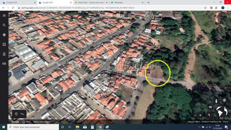 terreo ari Vista 2 - Terreno 1035m² à venda Itatiba,SP - R$ 750.000 - FCMF00121 - 6