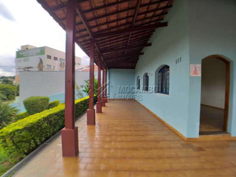 Quintal  frente - Casa 3 quartos para alugar Itatiba,SP - R$ 2.800 - FCCA31179 - 3