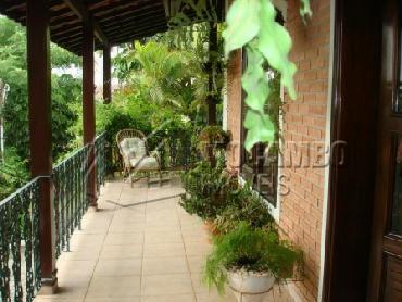 Área Externa - Casa em Condominio Para Alugar - Itatiba - SP - Parque das Laranjeiras - CD50001 - 6