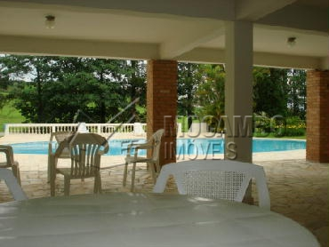 Área do Condomínio - Casa em Condominio Para Alugar - Itatiba - SP - Parque das Laranjeiras - CD50001 - 20