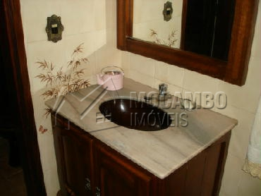 Lavabo - Casa em Condominio Para Alugar - Itatiba - SP - Parque das Laranjeiras - CD50001 - 17