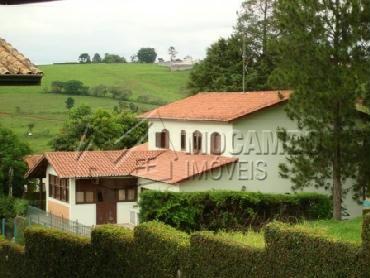Área Externa - Casa em Condominio Para Alugar - Itatiba - SP - Parque das Laranjeiras - CD50001 - 3