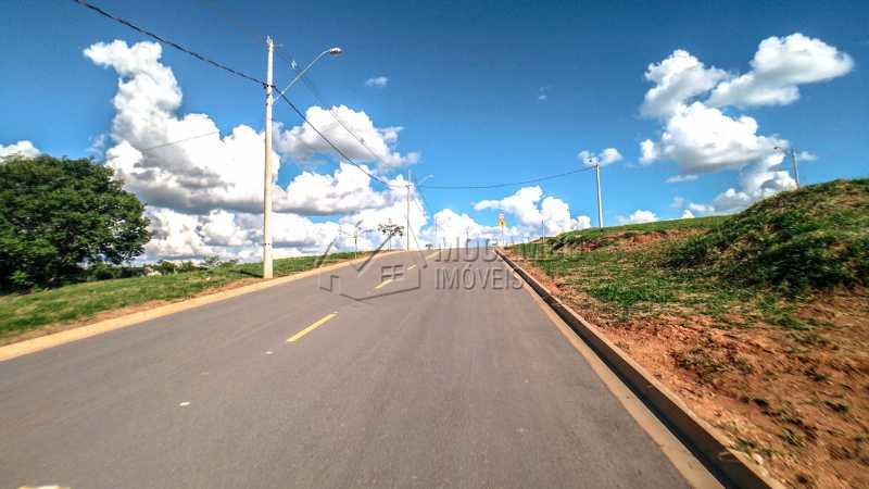 Ruas do Condomínio - Terreno 384m² À Venda Itatiba,SP - R$ 192.000 - FCUF01181 - 6