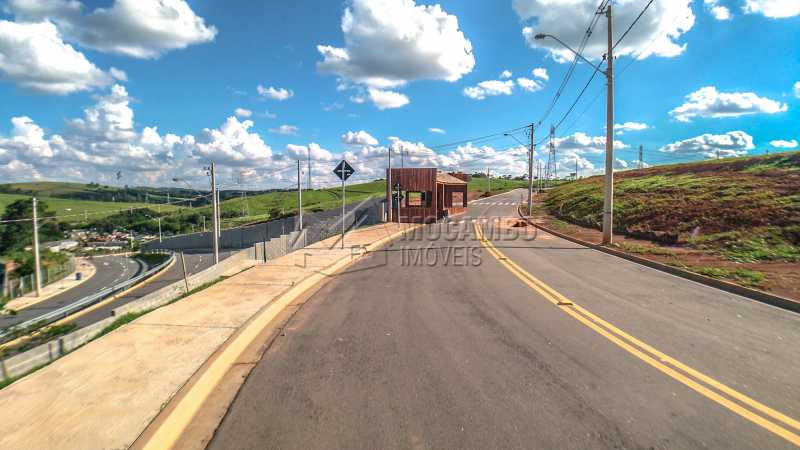 Ruas do Condomínio - Terreno 384m² À Venda Itatiba,SP - R$ 192.000 - FCUF01181 - 10