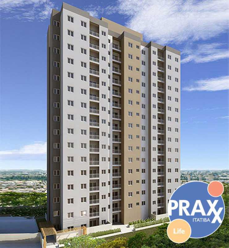 PRAXX RESIDENCIAL - Sala Comercial 40m² para alugar Itatiba,SP - R$ 1.200 - FCSL00179 - 1