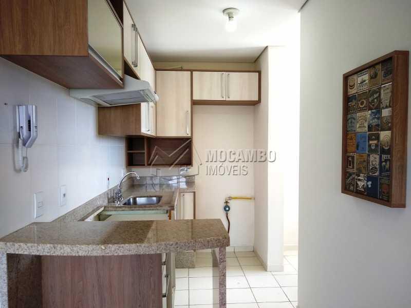 Cozinha - Apartamento 2 quartos à venda Itatiba,SP - R$ 209.000 - FCAP20880 - 1