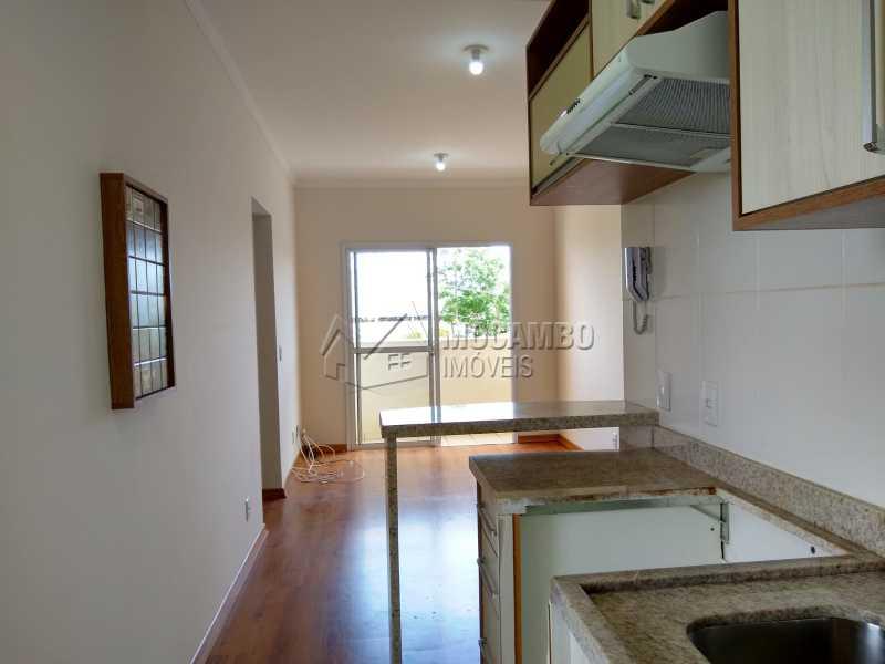 Cozinha - Apartamento 2 quartos à venda Itatiba,SP - R$ 209.000 - FCAP20880 - 3