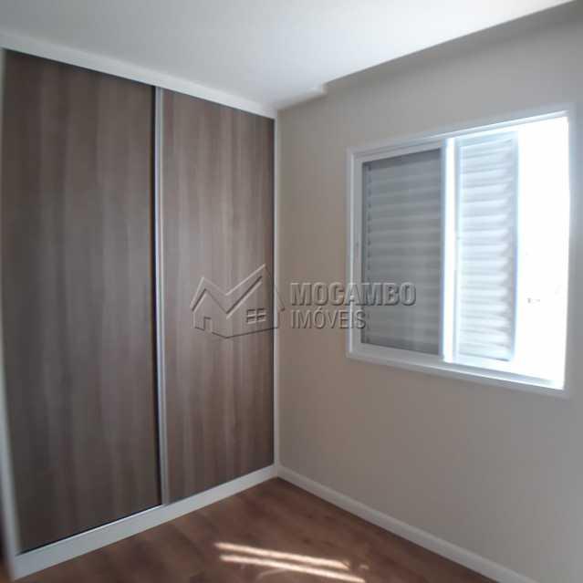 Quarto2 com armário planejado - Apartamento Condomínio Edifício Residencial Reserva da Mata, Itatiba, Jardim das Nações, SP À Venda, 2 Quartos, 55m² - FCAP20881 - 12