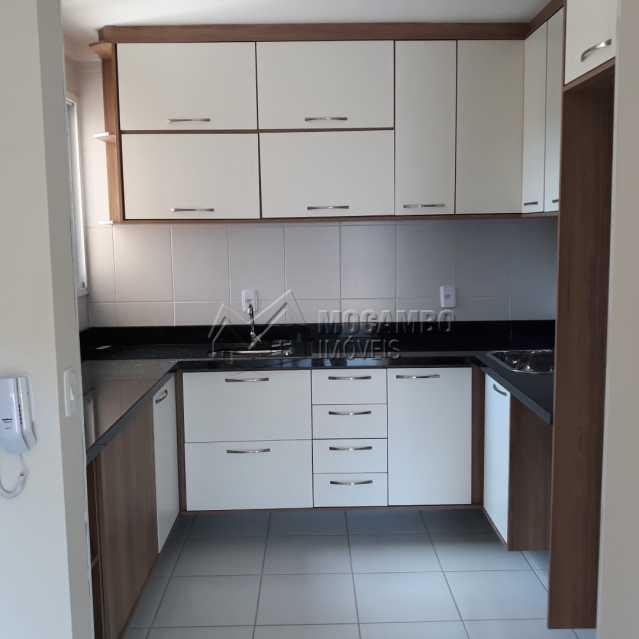 cozinha planejada - Apartamento Condomínio Edifício Residencial Reserva da Mata, Itatiba, Jardim das Nações, SP À Venda, 2 Quartos, 55m² - FCAP20881 - 5