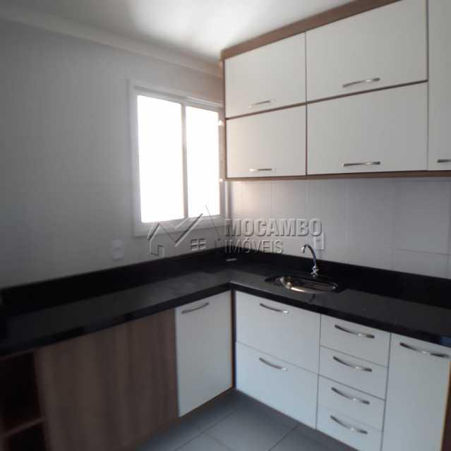 cozinha planejada  - Apartamento Condomínio Edifício Residencial Reserva da Mata, Itatiba, Jardim das Nações, SP À Venda, 2 Quartos, 55m² - FCAP20881 - 6