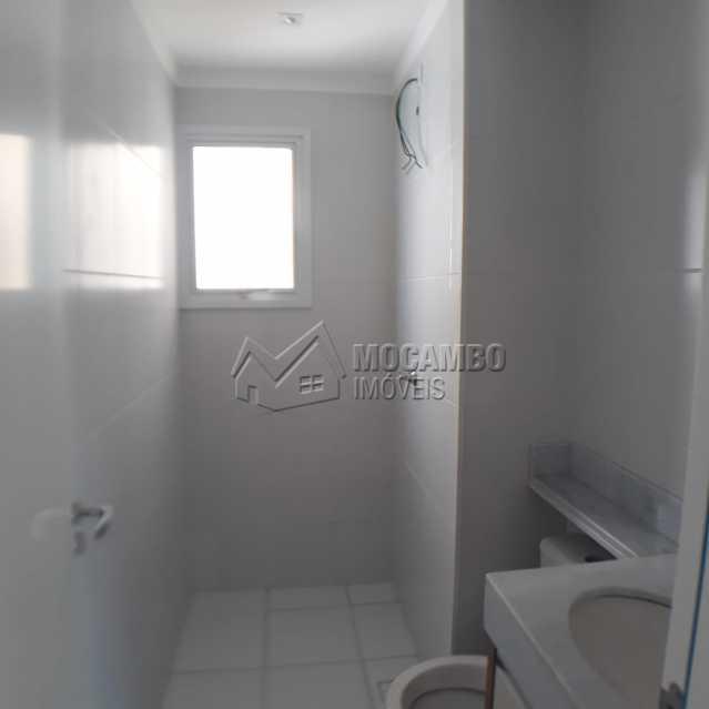 banheiro social  - Apartamento Condomínio Edifício Residencial Reserva da Mata, Itatiba, Jardim das Nações, SP À Venda, 2 Quartos, 55m² - FCAP20881 - 7