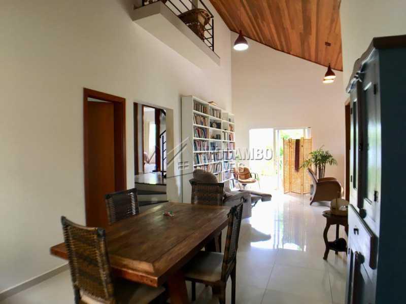 Sala de jantar - Casa em Condomínio 4 Quartos À Venda Itatiba,SP - R$ 680.000 - FCCN40128 - 4