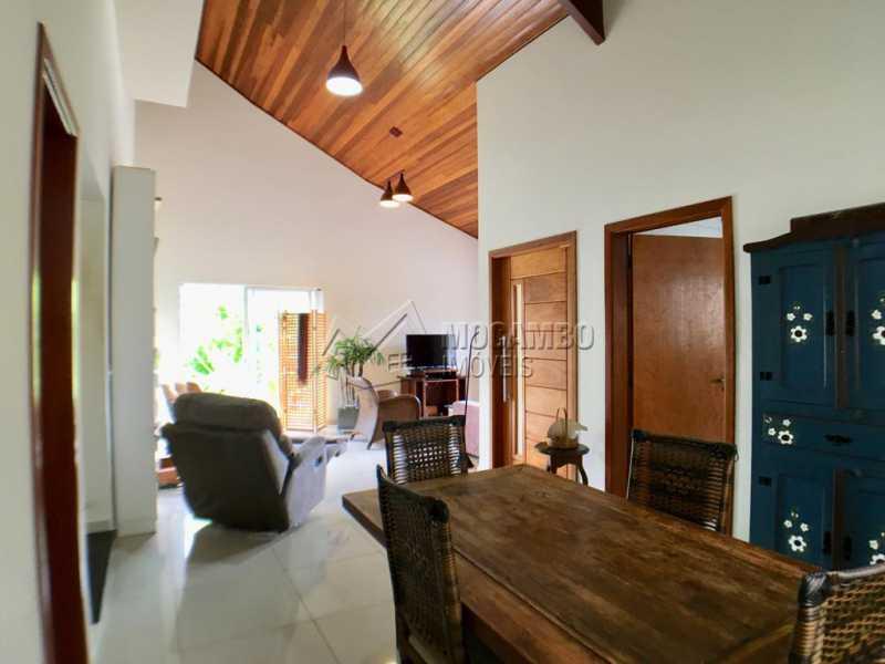 Sala de jantar - Casa em Condomínio 4 Quartos À Venda Itatiba,SP - R$ 680.000 - FCCN40128 - 5