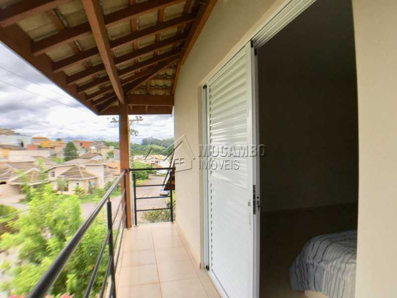 Varanda - Casa em Condomínio 4 Quartos À Venda Itatiba,SP - R$ 680.000 - FCCN40128 - 16