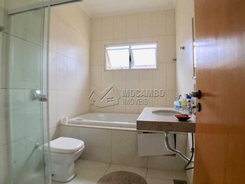 Banheiro suíte - Casa em Condomínio 4 Quartos À Venda Itatiba,SP - R$ 680.000 - FCCN40128 - 18