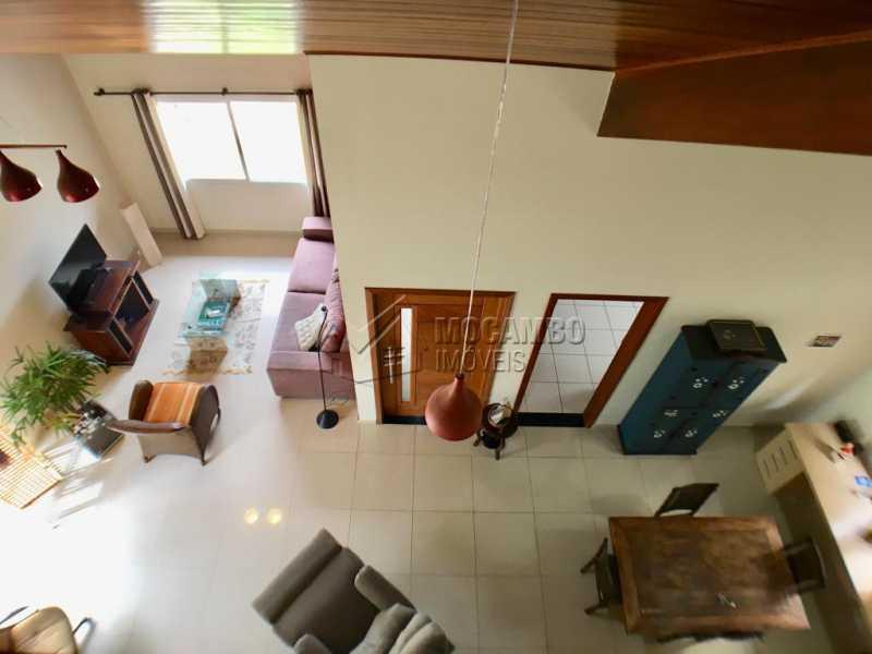 Sala para 2 ambientes - Casa em Condomínio 4 Quartos À Venda Itatiba,SP - R$ 680.000 - FCCN40128 - 13