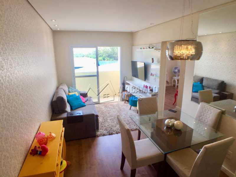 Sala de Jantar/ Sala de estar  - Apartamento 2 quartos à venda Itatiba,SP - R$ 230.000 - FCAP20890 - 1