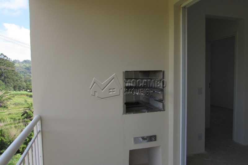 Varanda - Apartamento Condomínio Edifício Residencial Green Ville, Avenida Roberto Delphino,Itatiba, Bairro das Brotas, SP À Venda, 2 Quartos, 52m² - FCAP20895 - 4